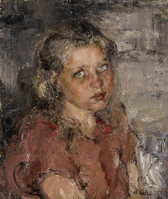 Fechin Portrait of a Young Girl 250000 - 350000