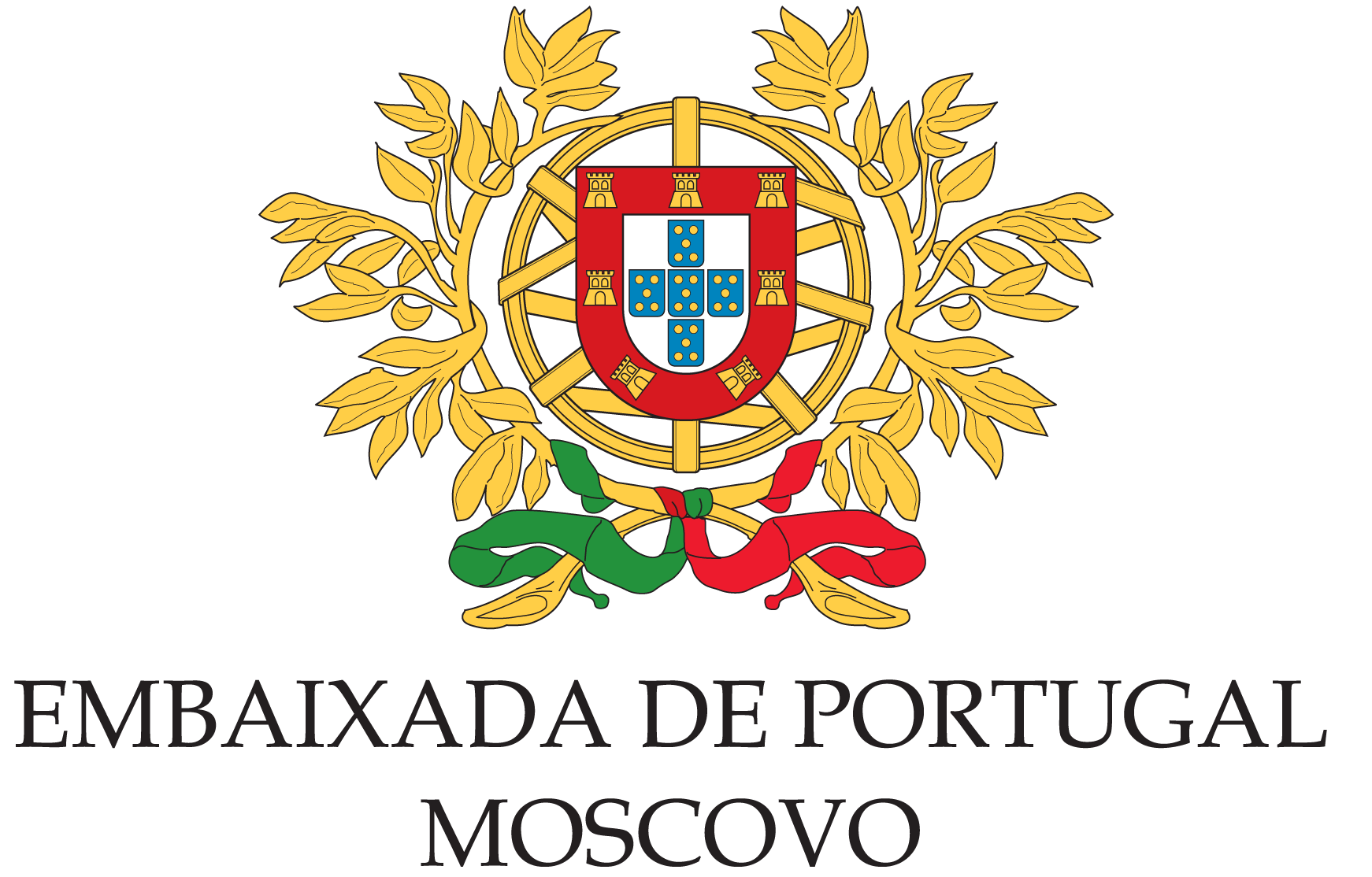Logo Embassy of Portugal in Moscow