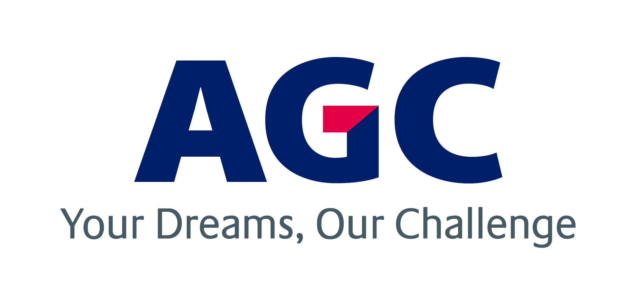 AGC Group Brand Logo and Brand Statement Logo Center