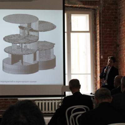 International experts discussed conservation of the Melnikov House